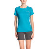 VAUDE Hallett II Shirt Women cyan